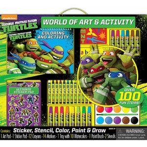 Teenage Mutant Ninja Turtles  World Of Art
